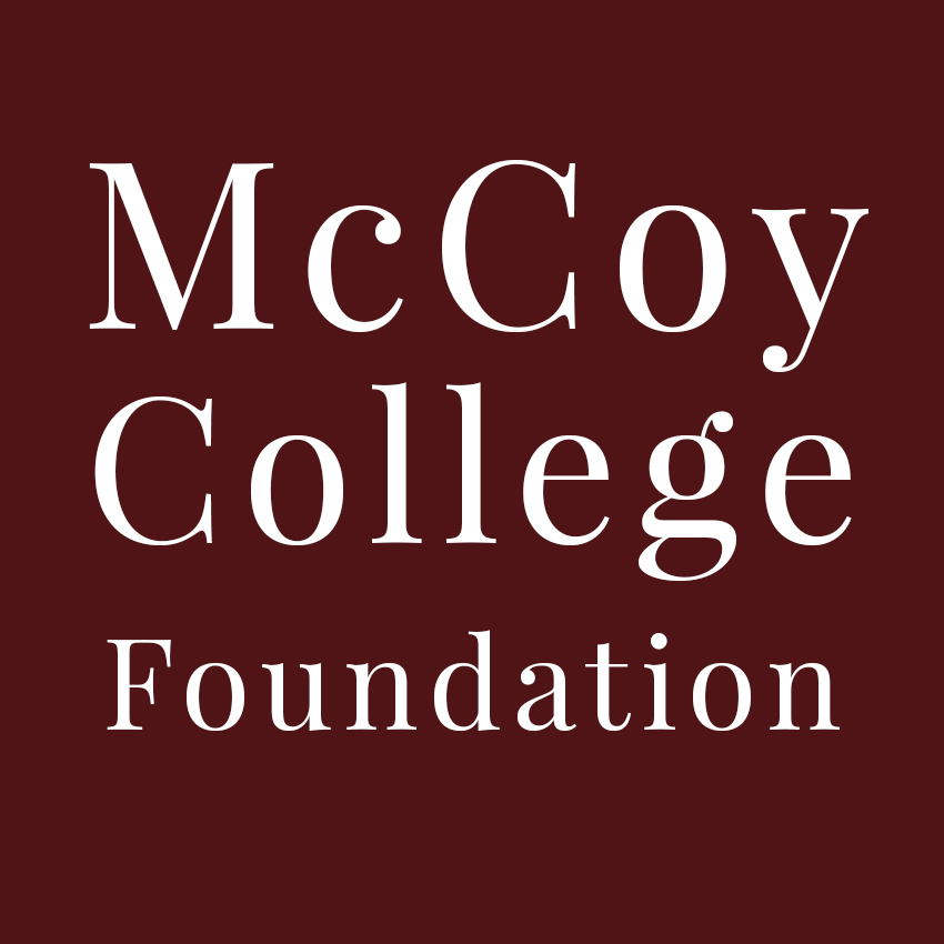 McCoy College Foundation logo